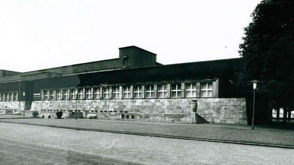 Historische Außenansicht des NRW Forums