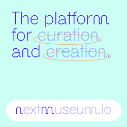 Infografik mit dem Text: The platform, the curation and the creation